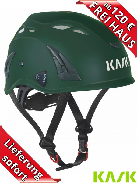 KASK Industrie Helm PLASMA AQ Schutzhelm Bauhelm Work EN397 dunkelgrün