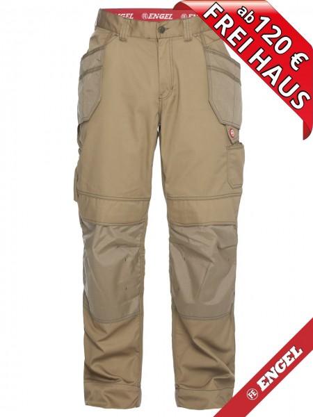 Arbeitshose Handwerkerhose Hose Taschen COMBAT FE ENGEL 2761-630 beige