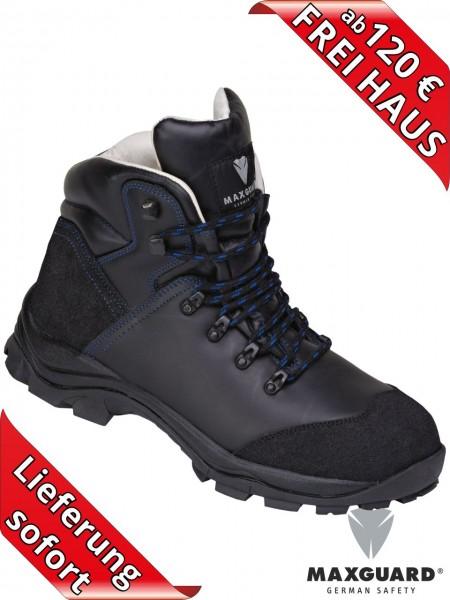 Maxguard X410 S3 Stiefel hohe Sicherheitsschuhe NOMEX® Leder Schuhe