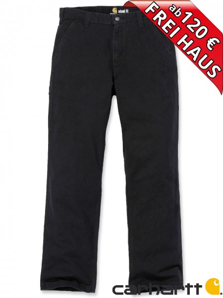 Carhartt Rugged Flex® Rigby Dungaree leichte Stretch Hose 102291 schwarz