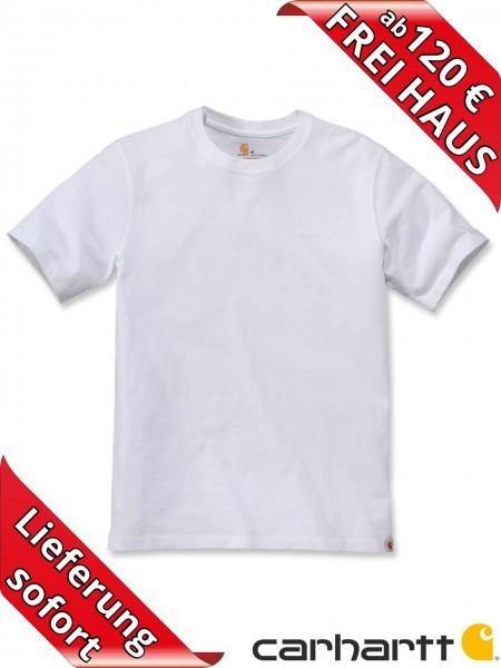 Carhartt schweres workwear T-Shirt Solid Baumwolle 104264 weiss