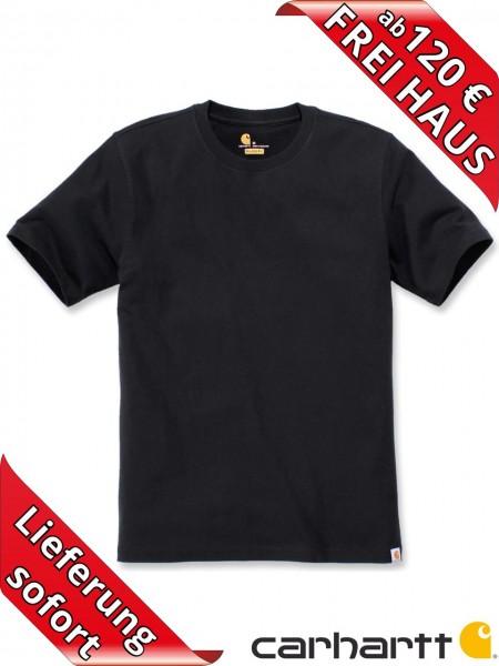 Carhartt schweres workwear T-Shirt Solid Baumwolle 104264 schwarz