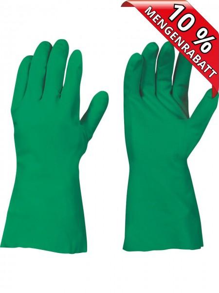 Nitril Chemikalienschutz Handschuhe VANCOUVER Surf 0458