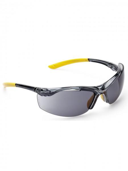 Schutzbrille sportliche Bügelbrille Scheibe grau UV400 UNICO 2800