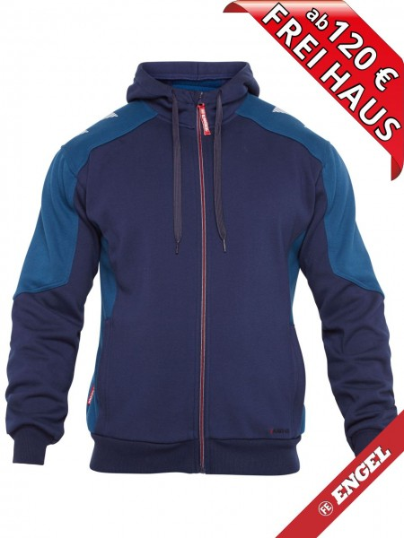 Sweat Jacke Cardigan Kapuzenjacke GALAXY 8820-233 FE ENGEL tintenblau