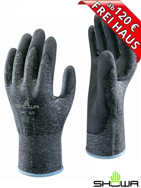 SHOWA 541 HPPE Palm Plus leichter Schnittschutz Arbeitshandschuh Montage