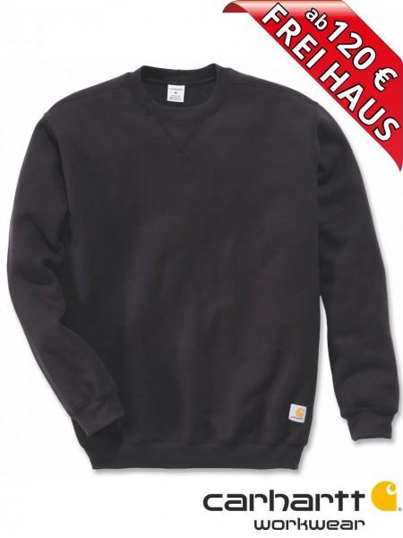 Carhartt Sweatshirt Midweight Crewneck Sweat Shirt K124 schwarz