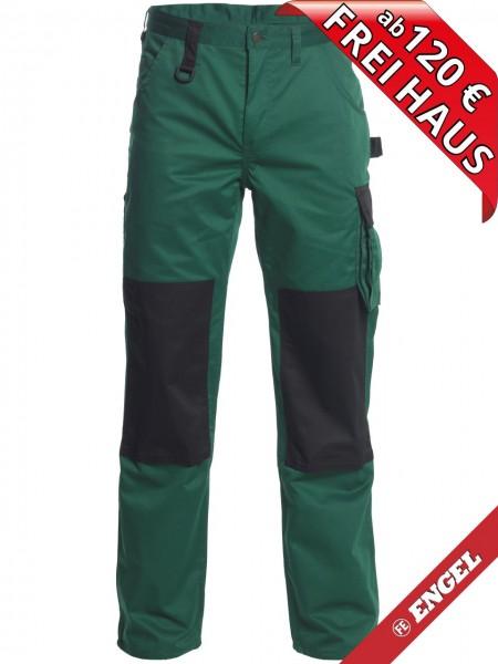 Bundhose Arbeitshose Light zweifarbig FE ENGEL 2270-745 grün/schwarz