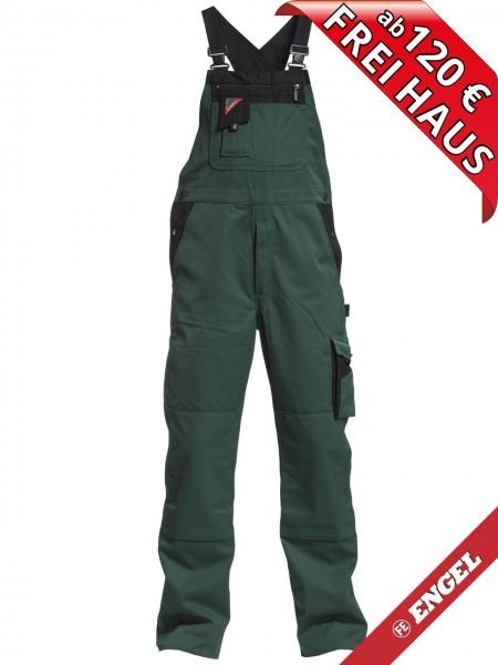Latzhose Arbeitslatzhose Enterprise zweifarbig FE ENGEL 3600-785 grün