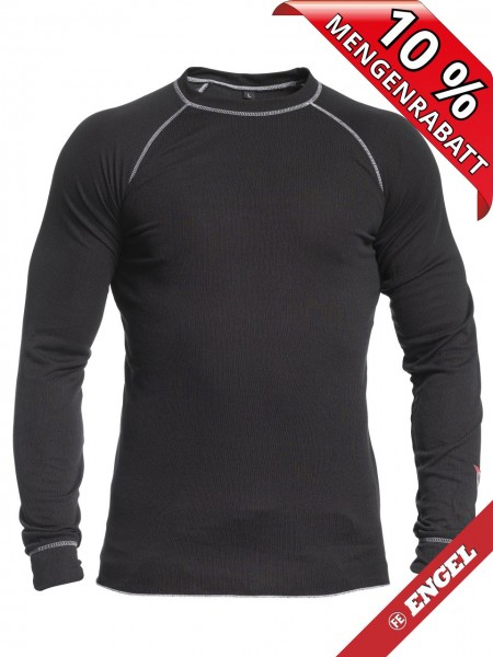 Funktionsunterhemd workwear schwarz FE ENGEL 720-200