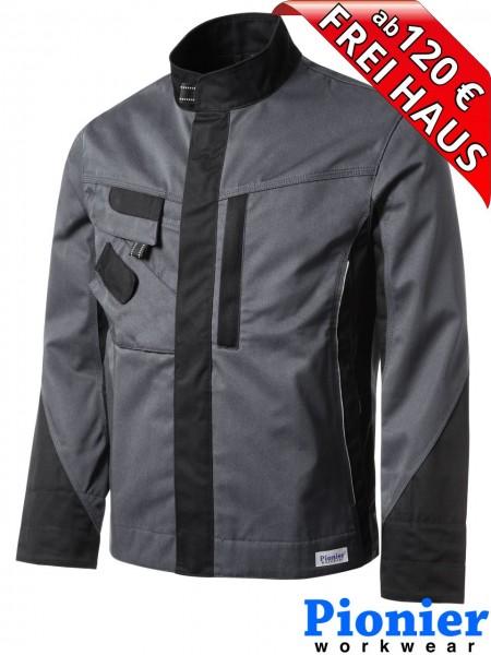 Bundjacke Arbeitsjacke grau/schwarz TOOLS Pionier Workwear 5241