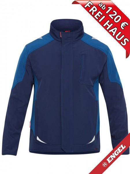 Softshell Jacke zweifarbig GALAXY 8810-229 FE ENGEL tintenblau petrol