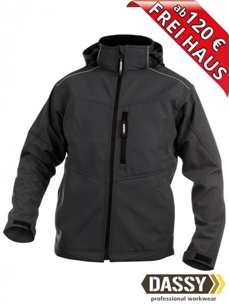 Softshell Jacke schwarz wasserdicht Softshelljacke TAVIRA DASSY 300304