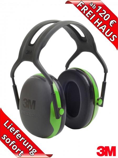 Gehörschützer 3M PELTOR Kapselgehörschutz X1A - SNR 27 dB(A) grün X1