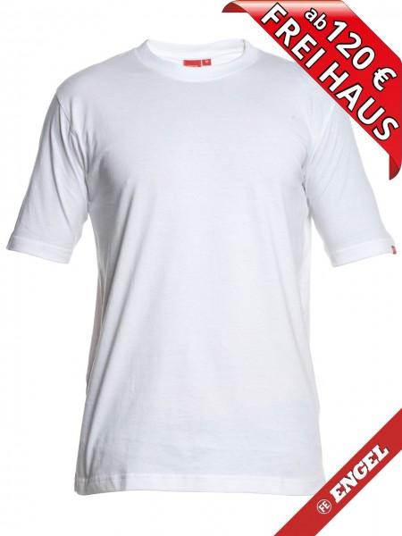 T-Shirt Workwear Mischgewebe Rundhals FE ENGEL 9054-559 weiß