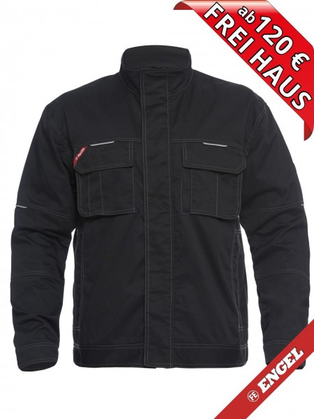 Arbeitsjacke Bundjacke Jacke COMBAT 1760-630 FE ENGEL schwarz