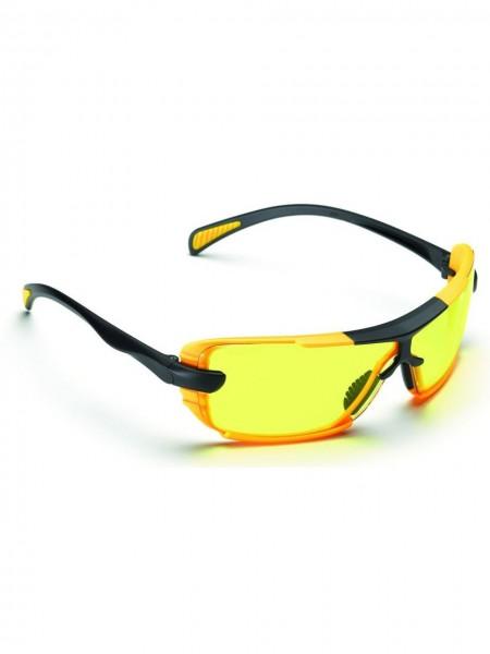 Schutzbrille Bügelbrille XIN gelb UNICO Jesse Glover