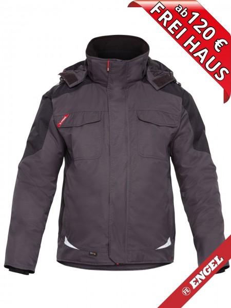 Winterjacke wasserdicht GALAXY 1410-354 FE ENGEL anthrazit grau