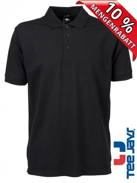 Stretch Herren Polo Shirt Deluxe 1405 Tee Jays schwarz