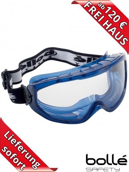 Bollé Safety Vollsichtbrille BLAST über Korrekturbrille tragbar belüftet