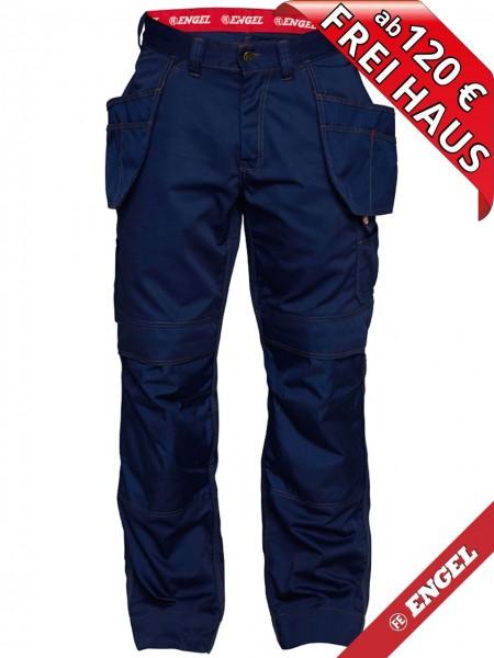 Arbeitshose Handwerkerhose Hose Taschen COMBAT FE ENGEL 2761-630 blau