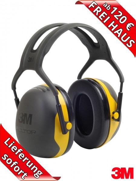 Gehörschützer 3M PELTOR Kapselgehörschutz X2A - SNR 31 dB(A) gelb X2